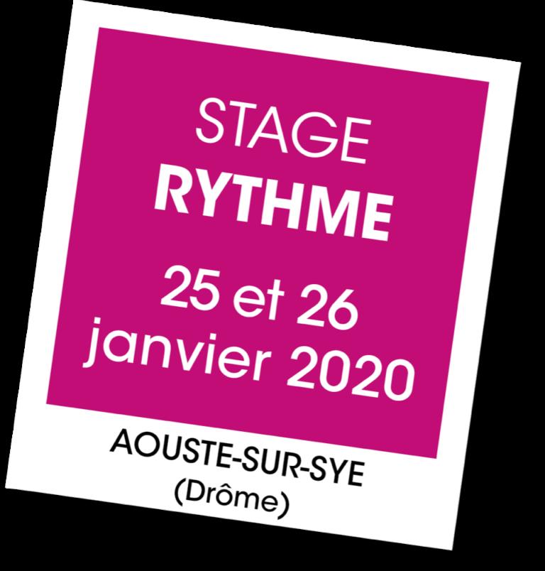 Stage de Rythme - A vous de jouer