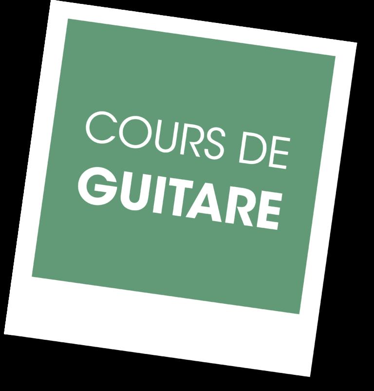 cours de Guitare A vous de jouer