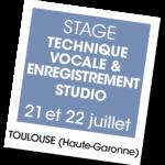 Stage chant Eléonore Fourrière 2018