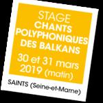 Stage de chants polyphoniques des Balkans