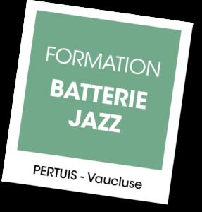 Formation Batterie Jazz - A vous de jouer