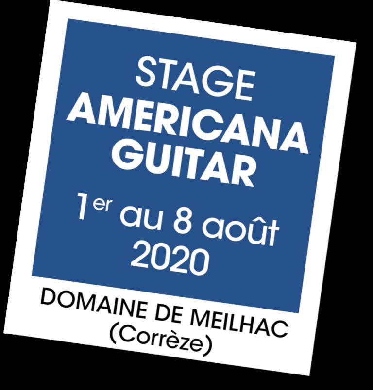 Stage Americana guitar - A vous de jouer