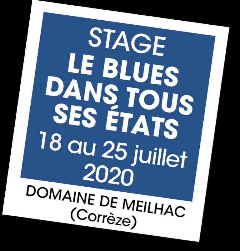 Stage Le Blues dans tous ses états - A vous de jouer