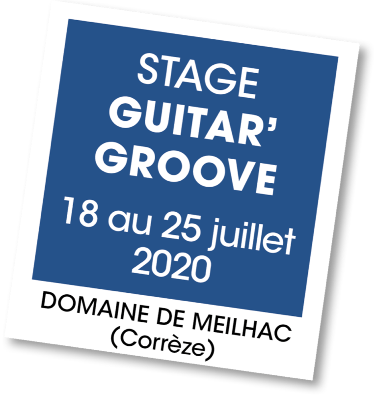 Stage Guitar'Groove - A vous de jouer