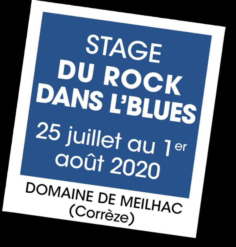 Stage Du Rock dans l'Blues - A vous de jouer