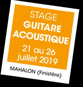 Stage Guitare acoustique à Mahalon - A vous de jouer