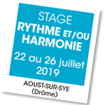 Stage Rythme et harmonie - A vous de jouer