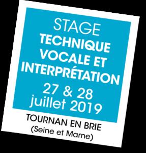 Stage technique vocale - A vous de jouer