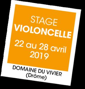 Stage de Violoncelle - A vous de jouer