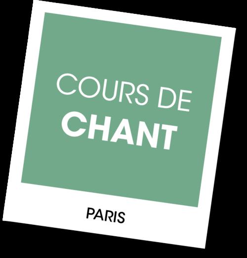 Cours de chant à Paris - A vous de jouer