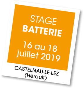 Stage de Batterie - A vous de jouer