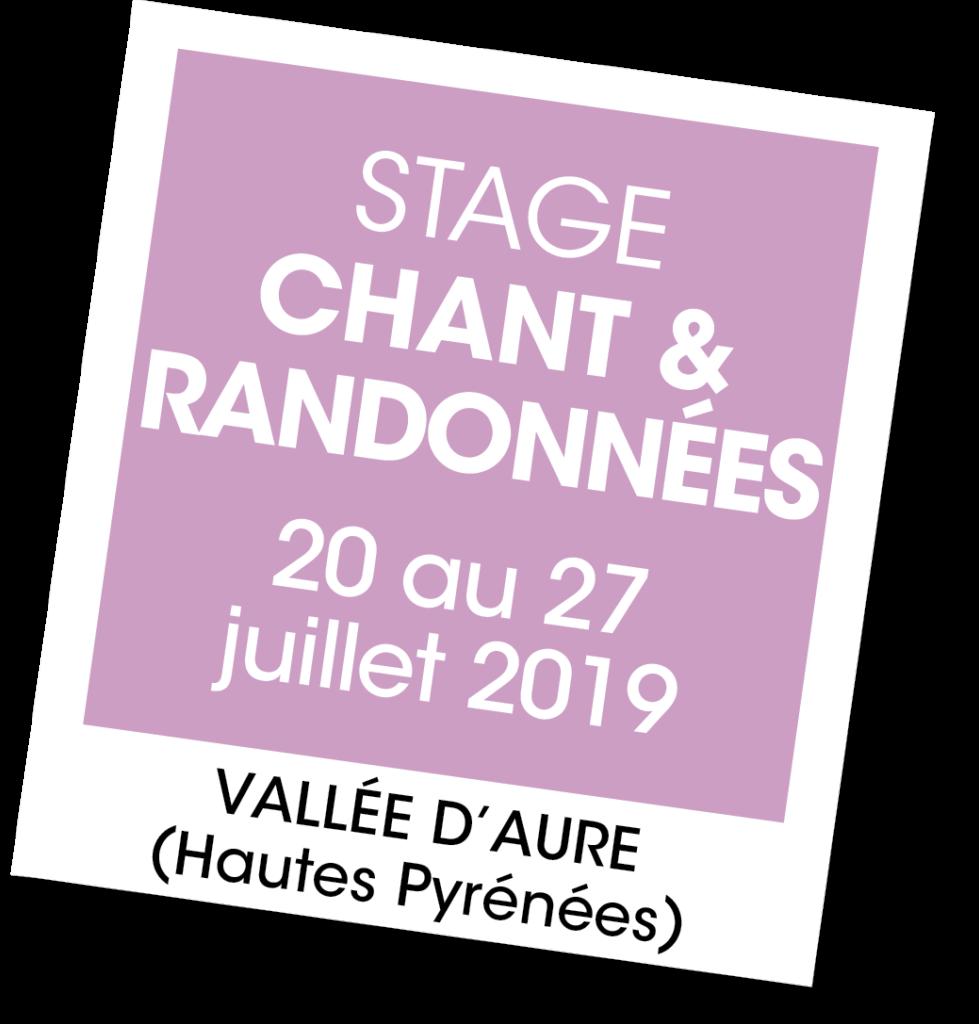 Stage Chant et randonnées - A vous de jouer