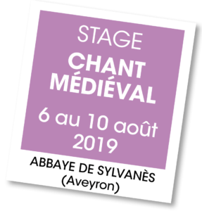Stage chant médiéval - A vous de jouer