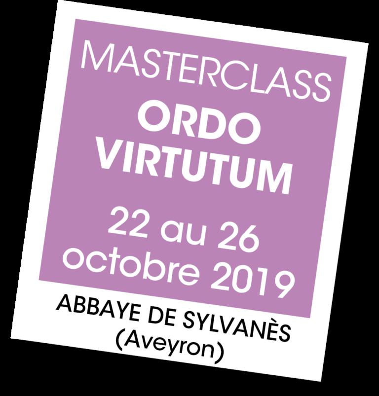 Master Class Ordo VIrtutum