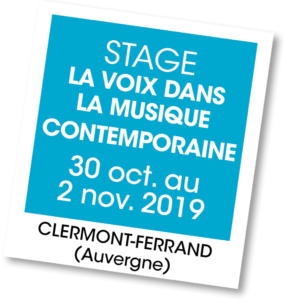 Stage avec Mora Vocis - A vous de jouer