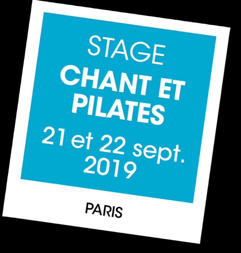 Stage Chant et pilates - A vous de jouer