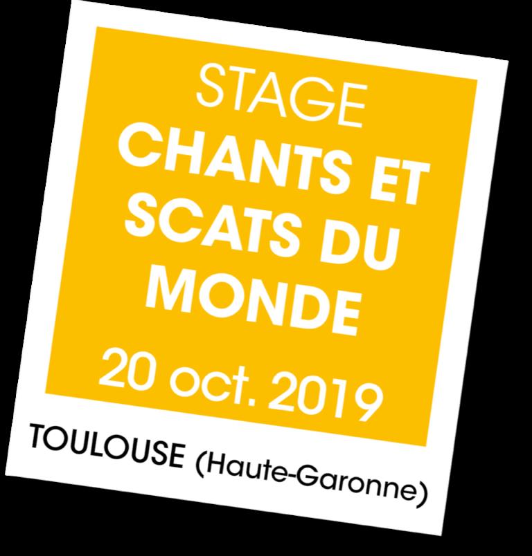 Stage chants et scats du monde - A vous de jouer