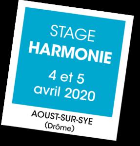 Stage d'Harmonie - A vous de jouer