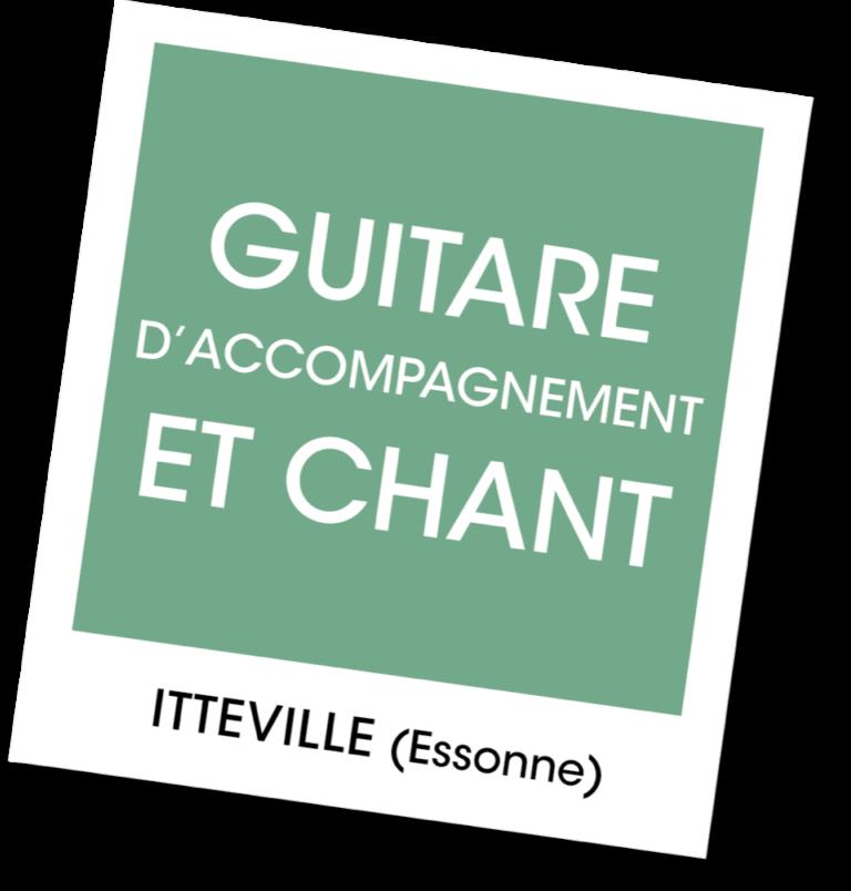 Guitare d'accompagnement et chant - A vous de jouer