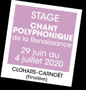 Stage de chant polyphonique de la renaissance - A vous de jouer