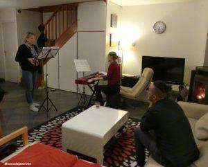 Souvenirs de stage avec Sonia Cat-Berro - A vous de jouer