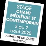 20200803 – Stage chant médiéval et contemporain – août 2020