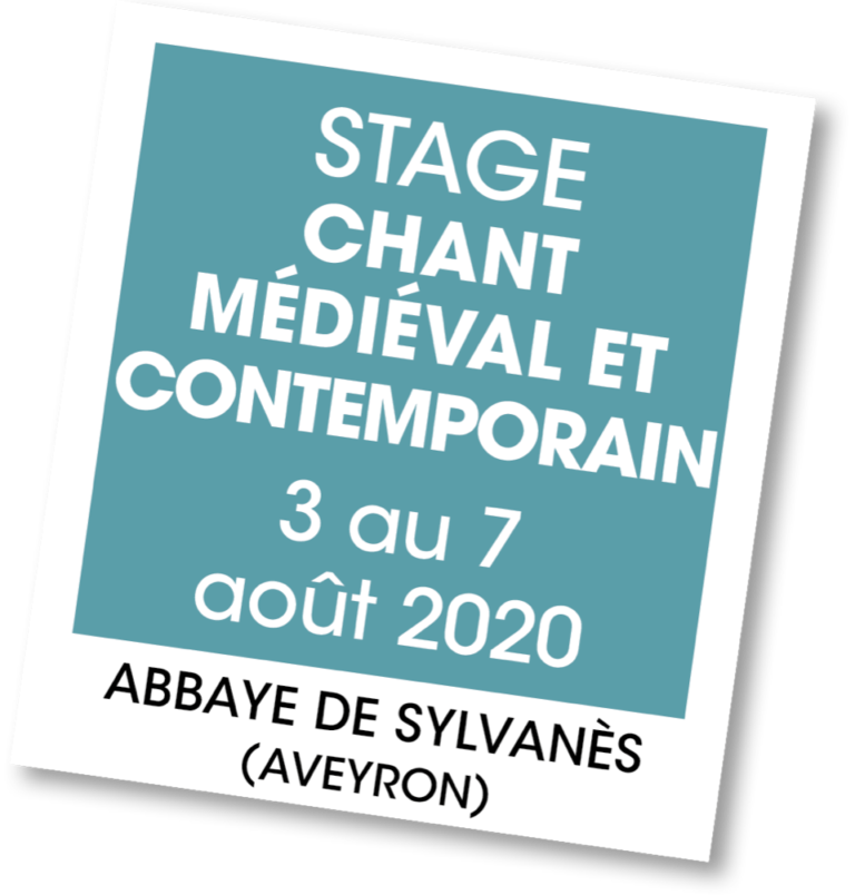 Stage de Chant Médiéval & Contemporain