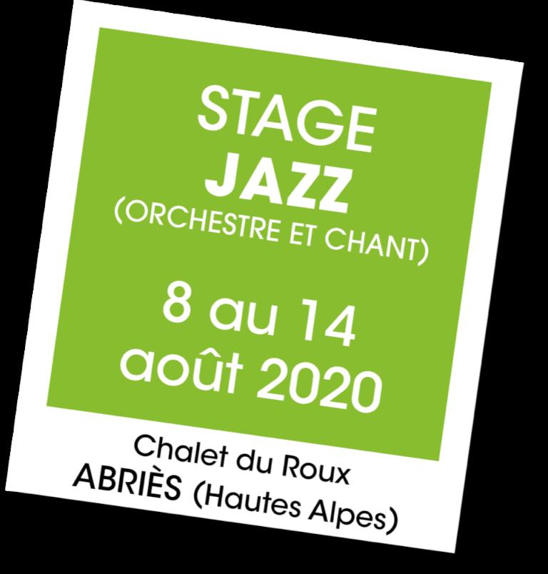 Stage de Jazz au Chalet du Roux