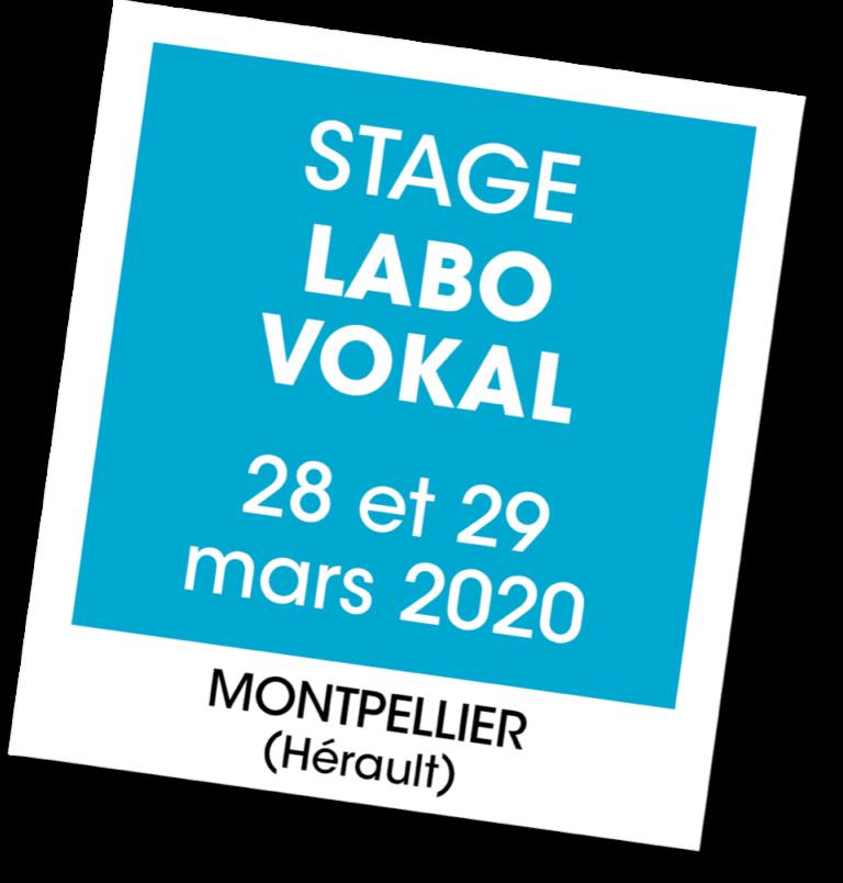 Stage Labo Vokal