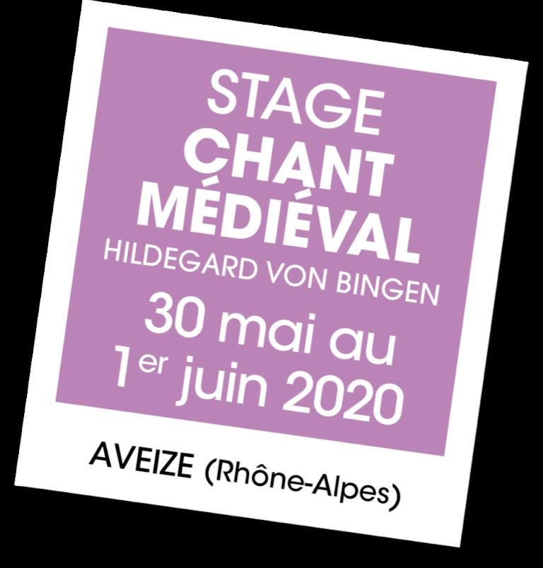 Stage de Chant Médiéval avec Mora Vocis
